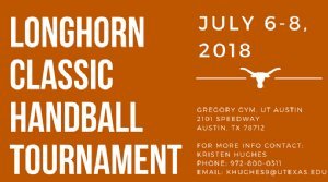 2018 Longhorn Classic Handball Tournament