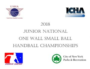 Handball Tournament in Brooklyn, NY USA