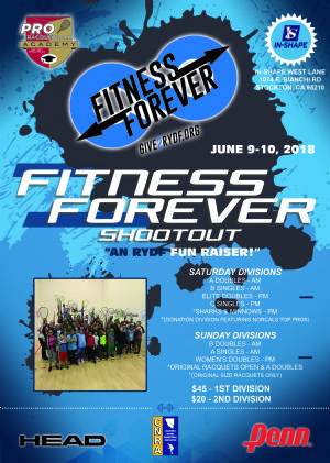 2018 FITNESS FOREVER SHOOTOUT, An RYDF Fun Raiser
