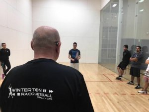 Winterton Racquetball Academy Camp presented by Instructor Thomas Carter