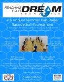 RYDF 4th Annual Summer Fun-Raiser Racquetball Tournament