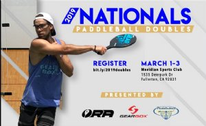 Paddleball Tournament in Fullerton, CA USA