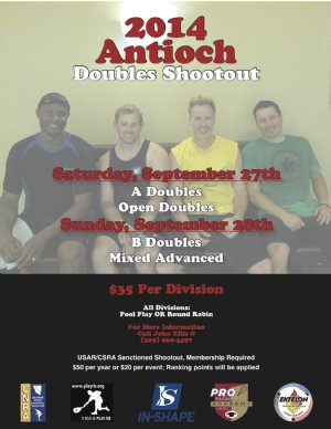 Racquetball Tournament in Antioch, CA USA