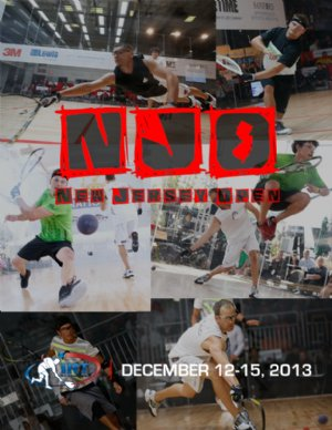 2013 New Jersey Open IRT Tier One Professional Racquetball Tournament