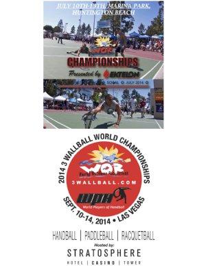 Racquetball Tournament in Huntington Beach, CA USA