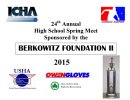 2015 24th Annual High School Spring Meet sponsored by the Berkowitz II Foundation
