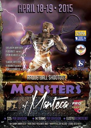 Racquetball Tournament in Manteca, CA USA