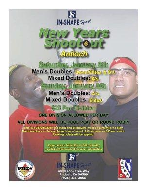 Racquetball Tournament in Antioch, CA USA