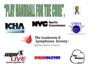 15th Annual Mayor's Cup Handball Tournament
