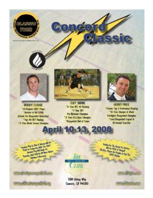 Racquetball Tournament in CONCORD, CA