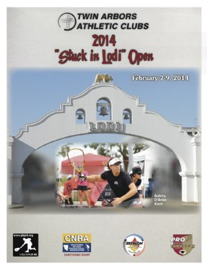 Racquetball Tournament in Lodi, CA USA