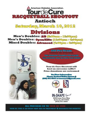Racquetball Tournament in Antioch, CA