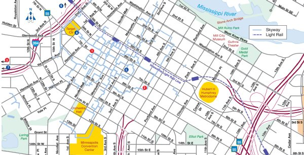 Life Time - Target Center Racquetball Tournament Location and Map