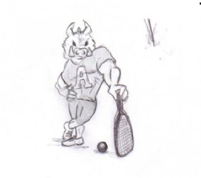 UofA Razorboack Racquetball