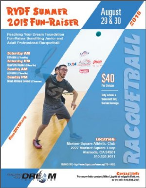 Racquetball Tournament in Alameda, CA USA