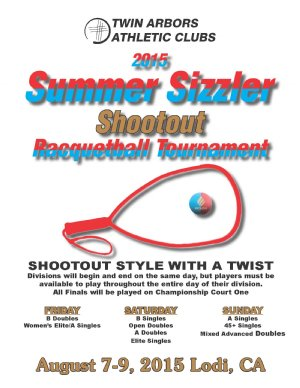 2015 Lodi Summer Sizzler Shootout