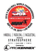 2016 3WB Outdoor World Championships & 1 Wall International Challenge (Race2Vegas Gold Cup Finale)