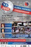 2014 GLOBAL HAPKIDO CHAMPIONSHIP