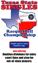 2018 Texas State Singles Racquetball Championships