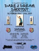 2017 DARE 2 DREAM SHOOTOUT, An RYDF Fundraiser Racquetball Tournament