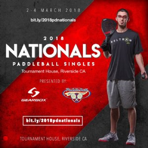 2018 NATIONAL SINGLES/WESTERN DOUBLES