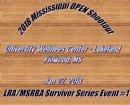 2018 Mississippi OPEN shootout Survivor Series event #1
