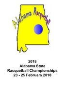 2018 Alabama State Racquetball Championships