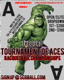 23rd Tournament of Aces Racquetball Championships