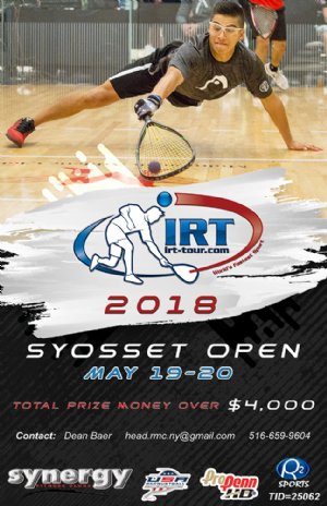 Racquetball Tournament in Syosset, NY USA