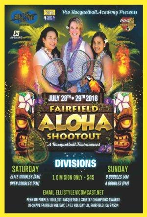 Racquetball Tournament in Fairfield, CA USA