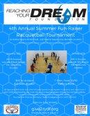 RYDF 4th Annual Summer Fun-Raiser Racquetball Tournament