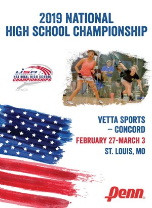 2019 National Championships for High School Racquetball