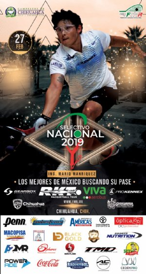 Racquetball Tournament in Chihuahua, CH MEX
