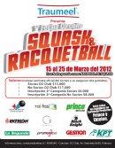 1a Fecha TRAUMEEL SQUASH & RACQUETBALL 2012
