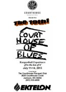 Courthouse of Blues 19 Open Racquetball Tournament